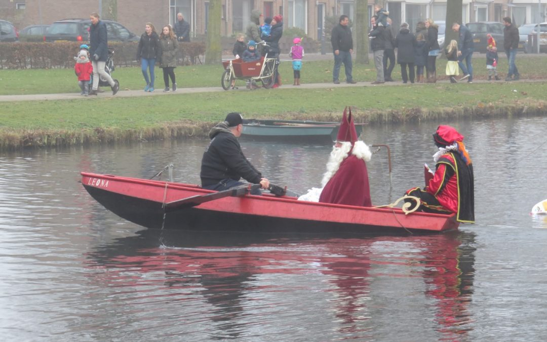 Sinterklaas in Orthen 2016